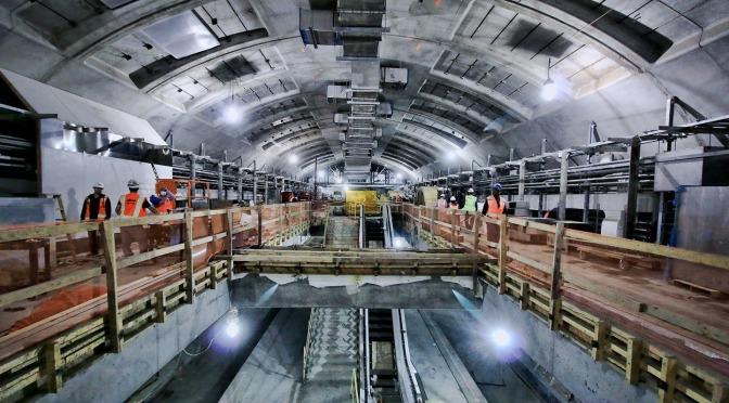 Building the Second Avenue Subway