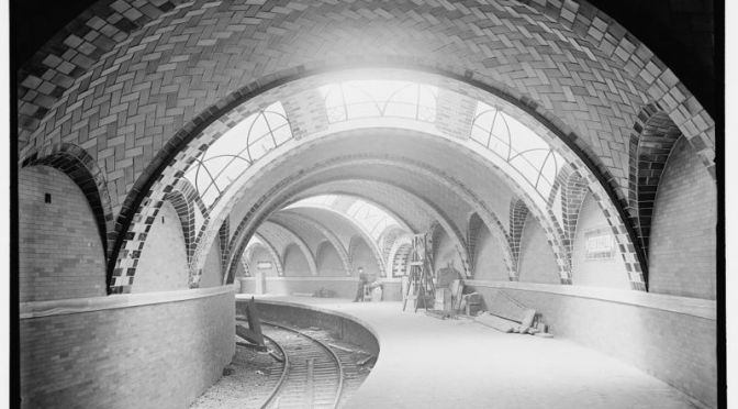 The New York City subway is stuck in the past, but it can glimpse the future