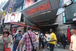 SubwayStationsTimesSquqre