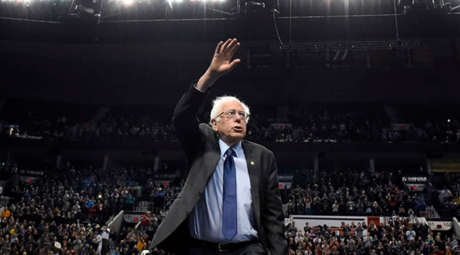 Media Unimpressed as Sanders Barely Gets Seventy Percent of Vote