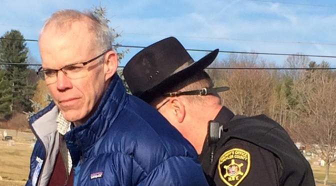 Bill McKibben Arrested (Still Detained) With 56 Others in Ongoing Campaign Against Proposed Gas Storage at Seneca Lake