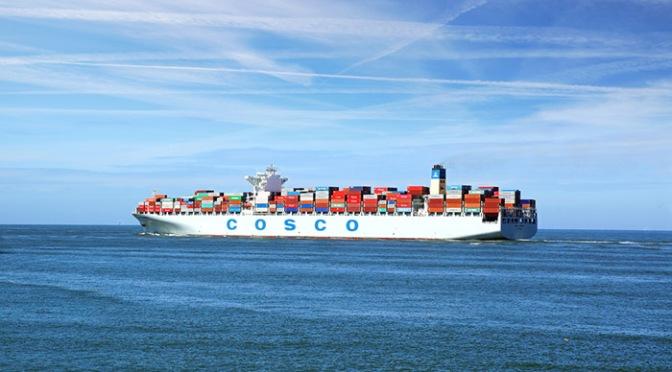 China Cosco Shipping aims to become third-largest container line