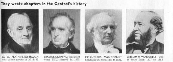 April 2, 1853 An Act of the New York State Legislature approves the merger creating the New York Central Railroad.