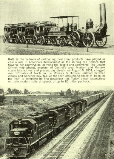 Early Railroad History From 1843