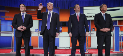 GOP Candidates Promise Four Major Ground Wars, Murder of Innocents, and Large Genitalia