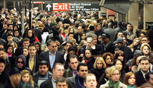 New York's Subway System Can't Keep Pace With Growing Number of Riders