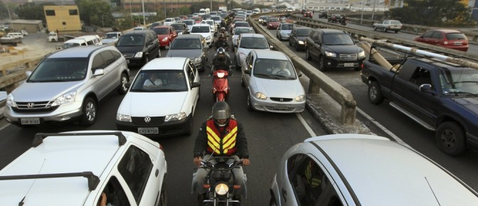 Which city has the world's worst traffic jams?