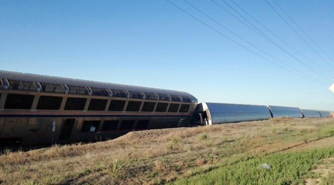 Engineer noticed rail deformity, braked just before Amtrak crash in Kansas