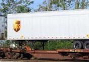 UPS: Railroads rate accolades for fall peak performance