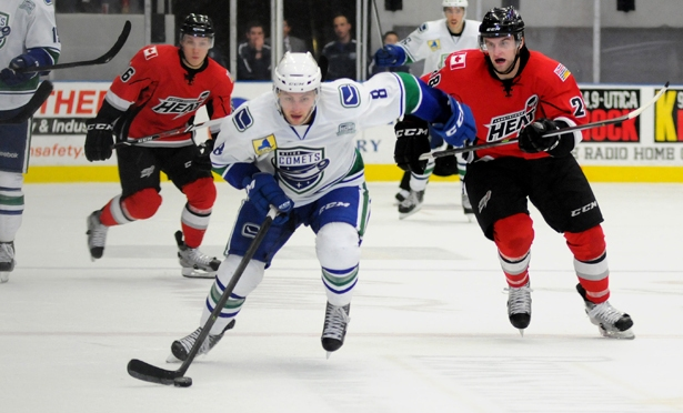 Comets Handled by the Devils
