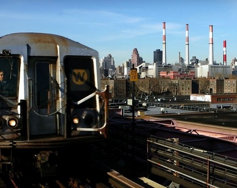 A public hearing on Astoria subway lines