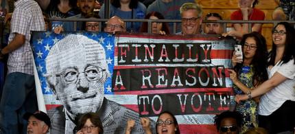 Win or Lose, Bernie, It's Movement-Building Time