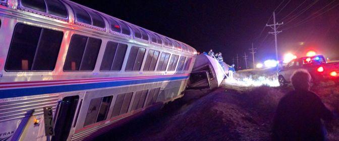 Report: Amtrak, BNSF sue Kansas truck owner in derailment incident