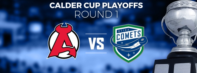 Comets to Battle with Albany in First Round of Calder Cup