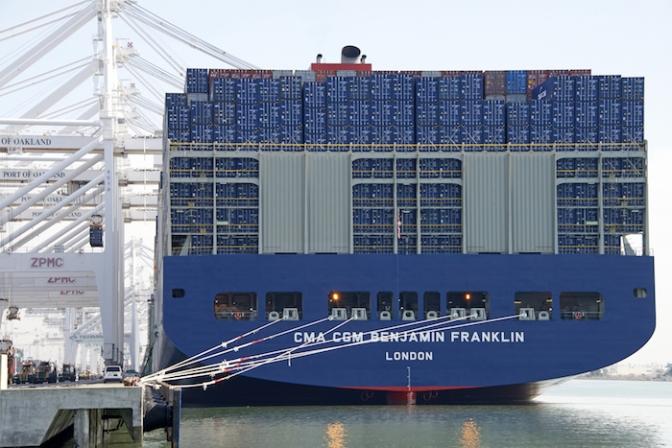 Labor stability key for mega-ships handling at US West Coast ports