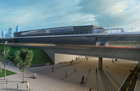 CDPQ Infra proposes 41-mile light-rail system in Montreal