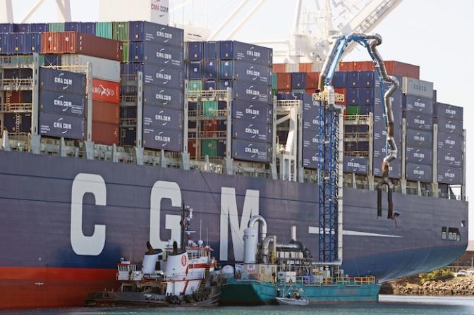 Collaboration held key to successful handling of mega-ships