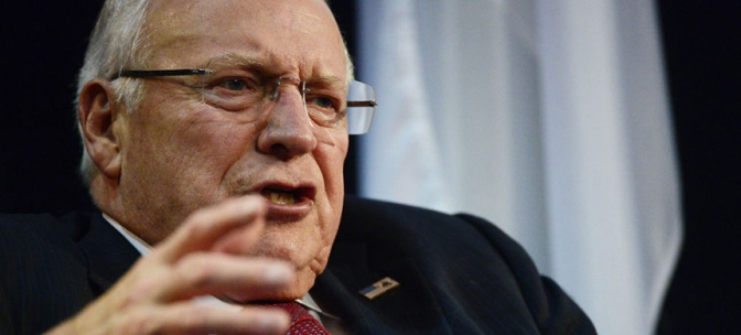 Here's a Nice Little Dick Cheney Story to Ruin Your Day
