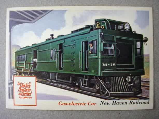 """""""DOODLE BUG"""" Service on the New Haven Railroad"""