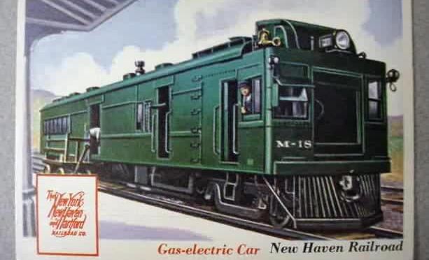 """DOODLE BUG"" Service on the New Haven Railroad"