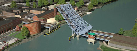 Connecticut DOT unveils website for Walk Bridge replacement project