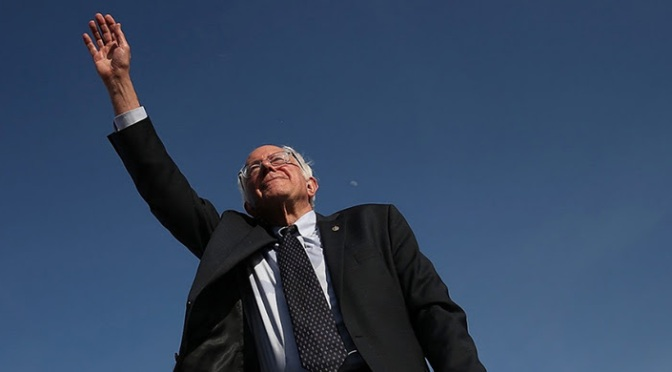 "Bernie Is Pointing to a ""New Way"" – Well, the ""Old Way"""