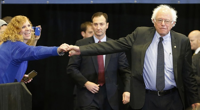 Sanders to Democratic Party: Whose Side Are We On?