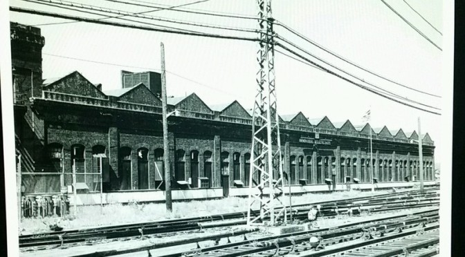 Harmon Shops Of The New York Central Railroad