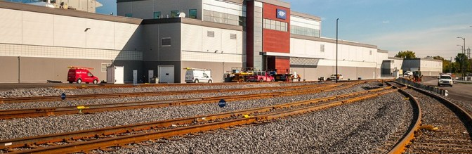 Montreal transit agency unveils train maintenance center