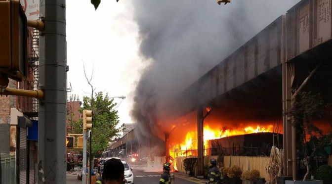 Train Service Into NYC's Grand Central Limited After Blaze