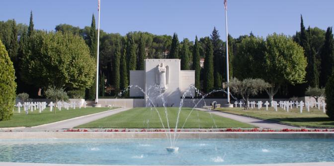 American Memorial Day 2016 – Rhone American Cemetary, Draguignan France