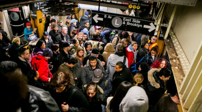 Surge in Ridership Pushes New York Subway