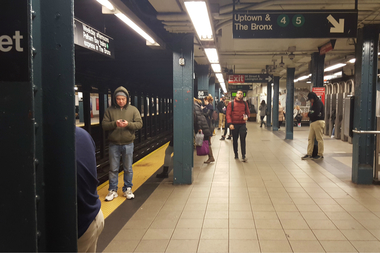 East 96th Street UES Station Had 300K More Commuters in 2015, MTA Says
