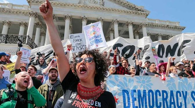 Democracy Movement Awakens in America