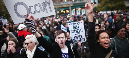 What Began at Occupy Wall Street Is Reverberating in Today's Democratic Primary