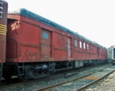 PRR 6518 at the Railway Museum of Greater Cincinnati