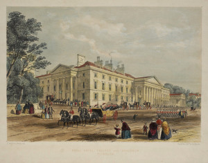 The Theatre Royal and Royal Hotel Plymouth, by Llewellyn Frederick William Jewitt