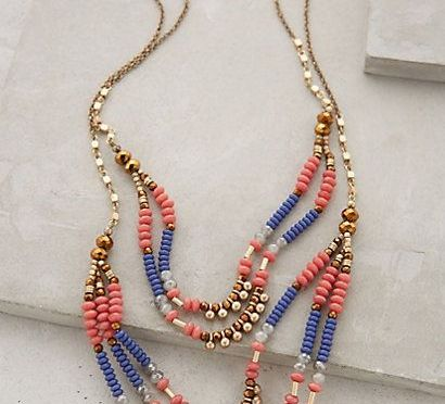 Sundown Tiered Necklace