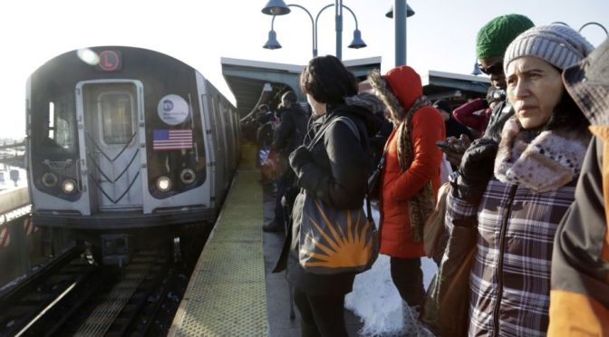 New York City Transit to close L line subway tunnel for 18 months