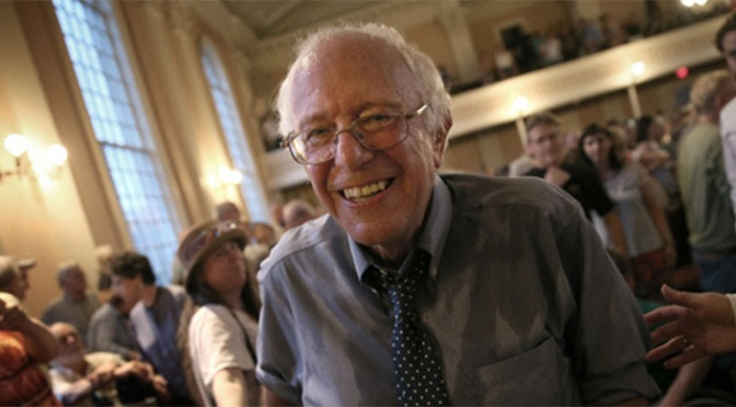 Bernie Sanders, US Opposition Leader