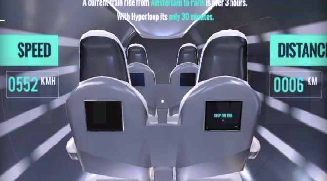 This Hyperloop VR app is a good reminder of how claustrophobic Hyperloop pods will be……The Muhammad Ali Hyperlink