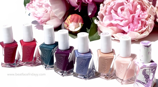Essie Gel Couture Nail Polish 10 Sheer Fantasy Swatch + First Impressions