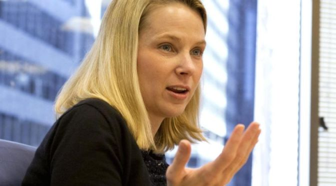 Here's what Yahoo CEO Marissa Mayer said that really made me angry