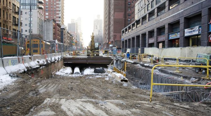 New York's Subway Expansion: A Disaster Only Government Could Create….An Op-Ed View