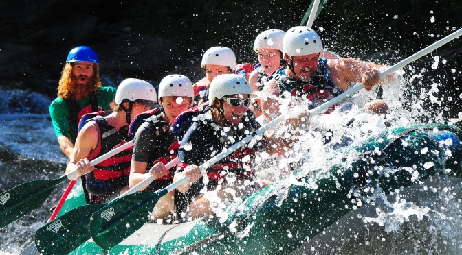 White Water Rafting Trip!