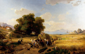 The Last Day of the Harvest, by Franz Richard Unterberger