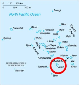 Location of Jaluit Island