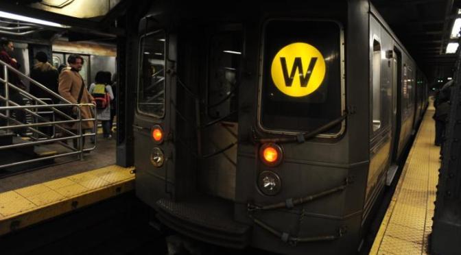 W Train to Return November 7