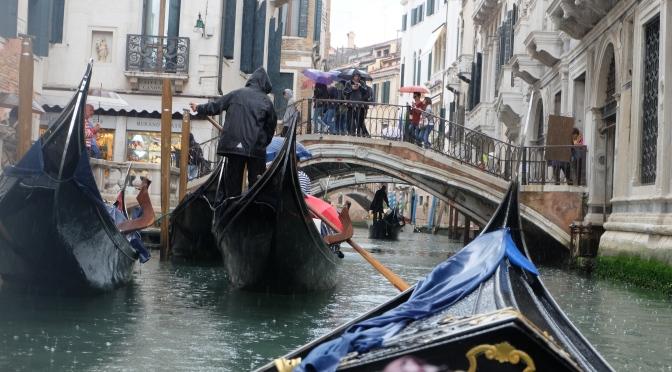 Gondola & rain