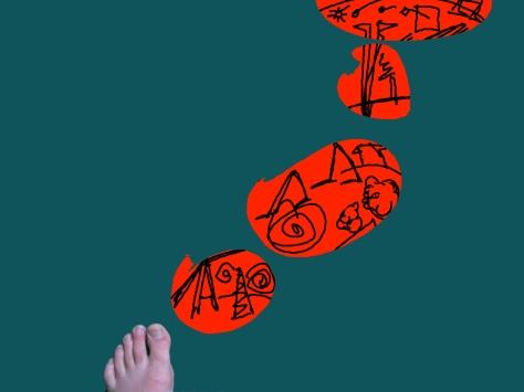 Thinking Foot